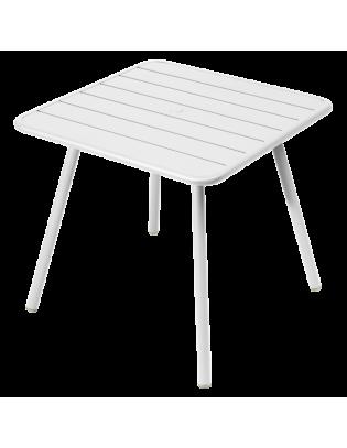 Tisch Luxembourg Fermob 4 Beine 80x 80 cm