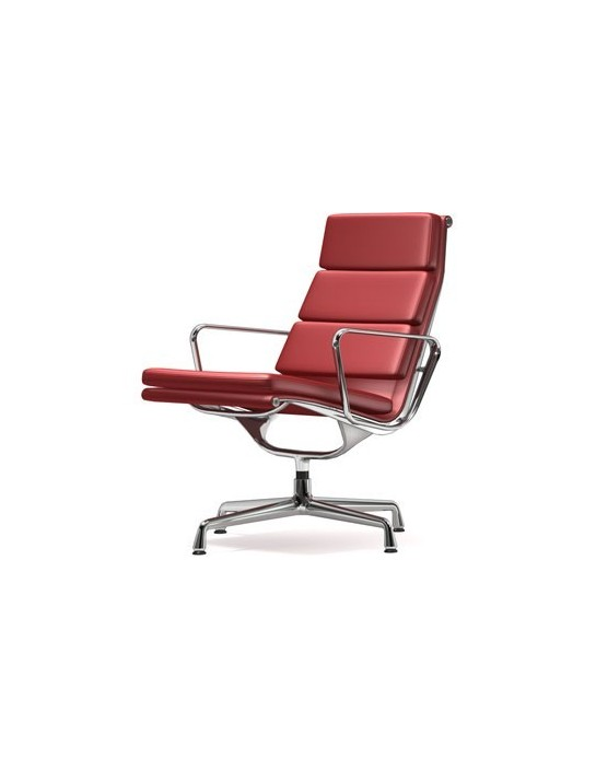 Soft Pad Chair EA 215 Vitra Leder