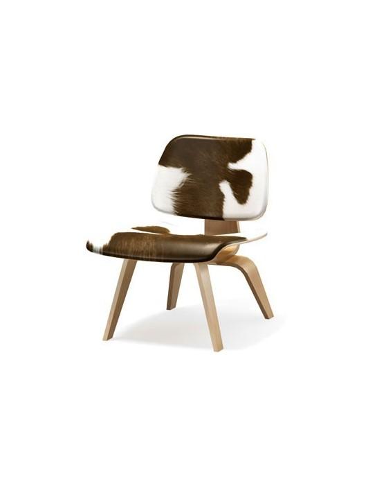 Stuhl Plywood LCW Calf's Skin Vitra