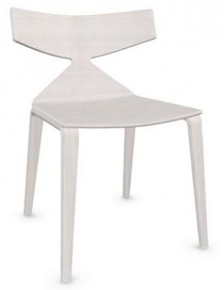 Stuhl Saya von Arper Holzgestell