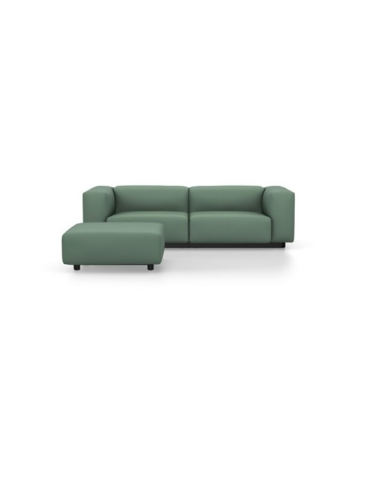 Soft Modular Sofa Zweisitzer mit Ottoman Vitra Cosy