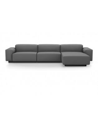 Soft Modular Sofa Dreisitzer mit Eckelement Vitra Cosy