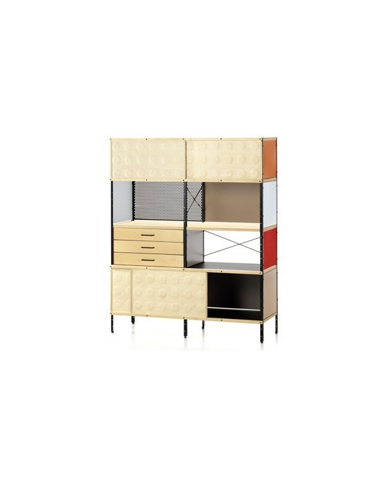 regal eames storage unit bookcase von vitra. Black Bedroom Furniture Sets. Home Design Ideas