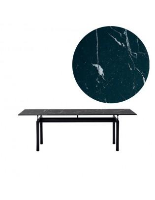 Tisch LC6 von Cassina | Marmorplatte
