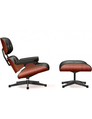 Sessel Lounge Chair & Ottoman Vitra klassische Version