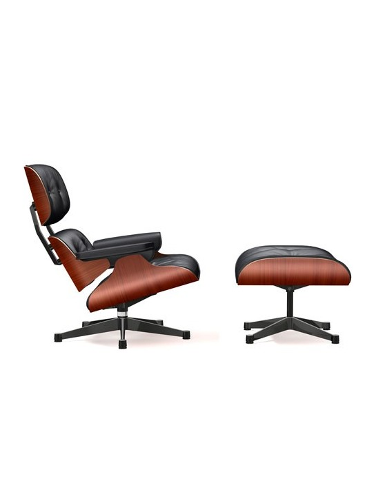 Sessel Lounge Chair & Ottoman Vitra klassische Version