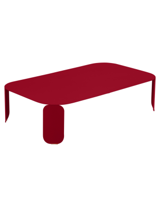 Niedriger Tisch Bebop Fermob 120 x 70 cm - H 29 cm
