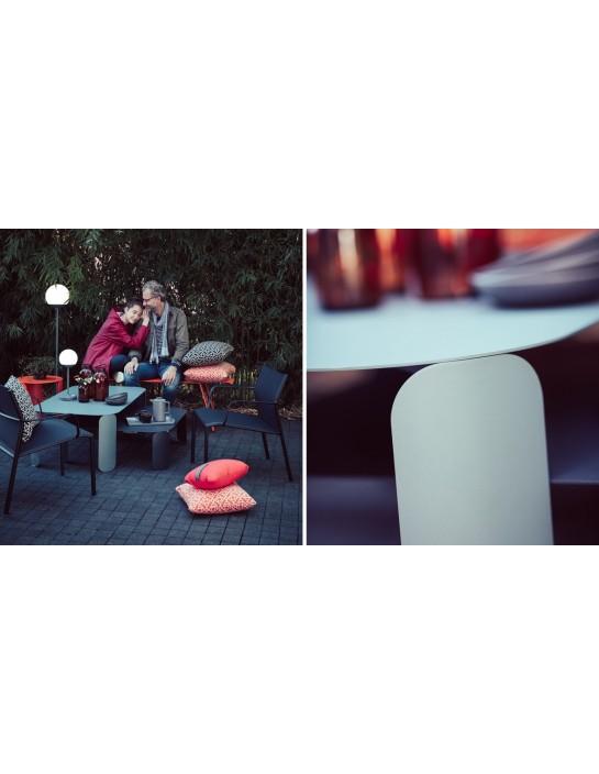 Niedriger Tisch Bebop Fermob 120 x 70 cm - H 42 cm