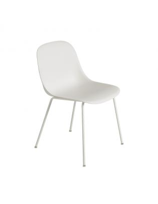 Fiber Side Chair Tube Base von Muuto Weiss