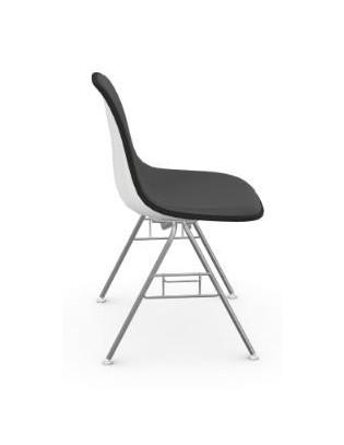Stuhl Eames Plastic Side Chair DSS Vitra mit Vollpolster