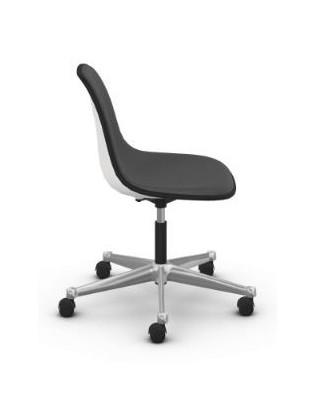 Drehstuhl Eames Plastic Side Chair PSCC von Vitra mit Vollpolster