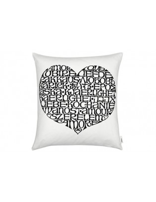 Kissen Graphic Print Pillow International Love Heart Vitra