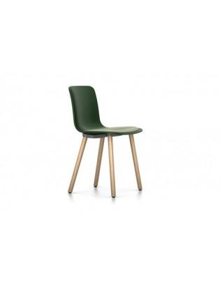 Stuhl HAL Wood von Vitra mit Sitzpolster