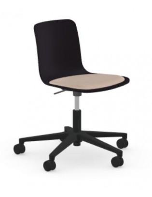 Stuhl HAL Studio von Vitra mit Sitzpolster