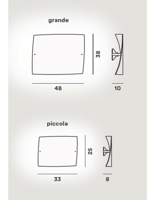 Wandleuchte Folio von Foscarini