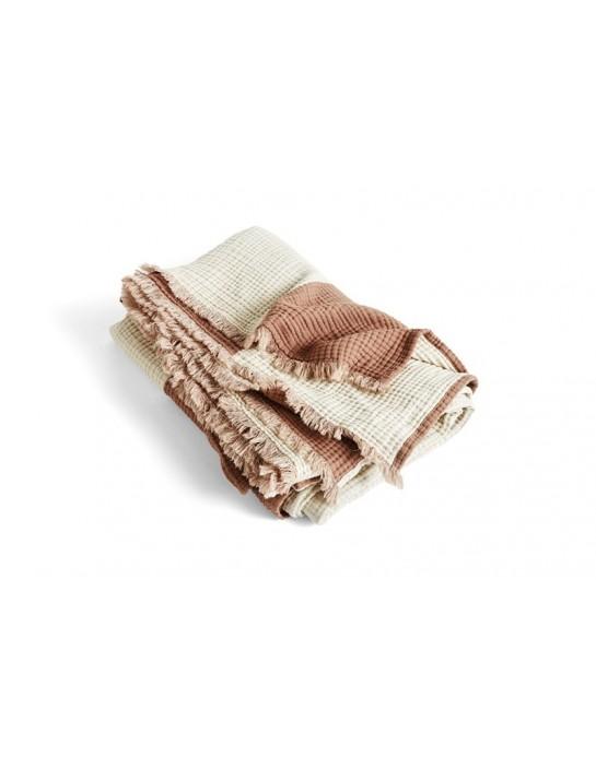 Decke Crinkle Stripe von HAY