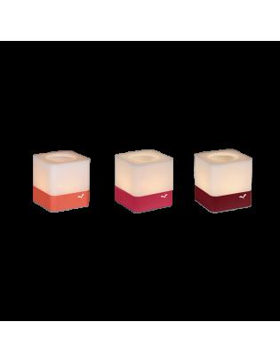 Set mit 3 Windlichtern Cuub von Fermob