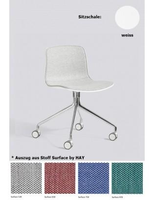 Stuhl About a Chair AAC14 mit Innenpolsterung von HAY
