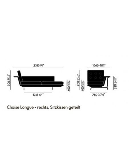 Chaise Longue Grand Sofà von Vitra