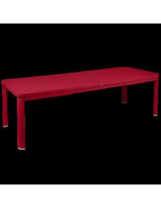 Tisch mit 2 Verlängerungen Oléron Fermob 155/255 x 100 cm