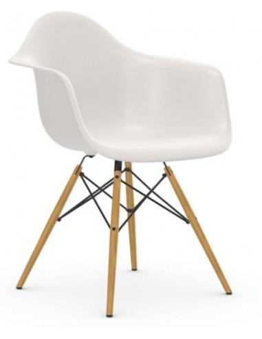 Stuhl Eames Plastic Armchair DAW Vitra ohne Sitzpolster