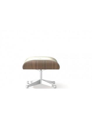 Ottoman für Lounge Chair Vitra weisse Version