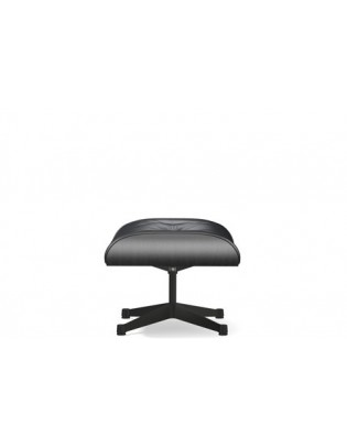 Ottoman für Lounge Chair Vitra schwarze Version