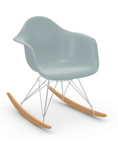 Schaukelstuhl Eames Plastic Armchair RAR Vitra