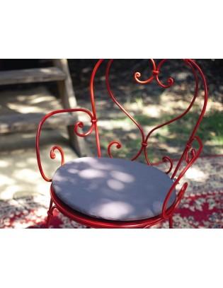 Outdoor-Kissen für Stühle 1900 und Montmartre Fermob die Basics Ø 40 cm
