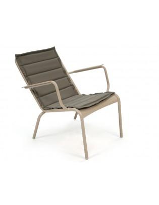 Outdoor-Kissen für den niedrigen Sessel Luxembourg Fermob die Basics