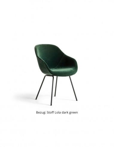 Stuhl About a Chair AAC127 mit Vollpolsterung von HAY