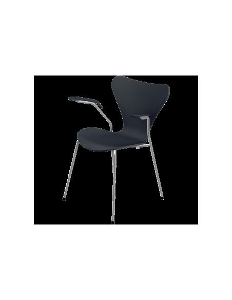 Stuhl Serie 7 von Fritz Hansen mit Armlehne