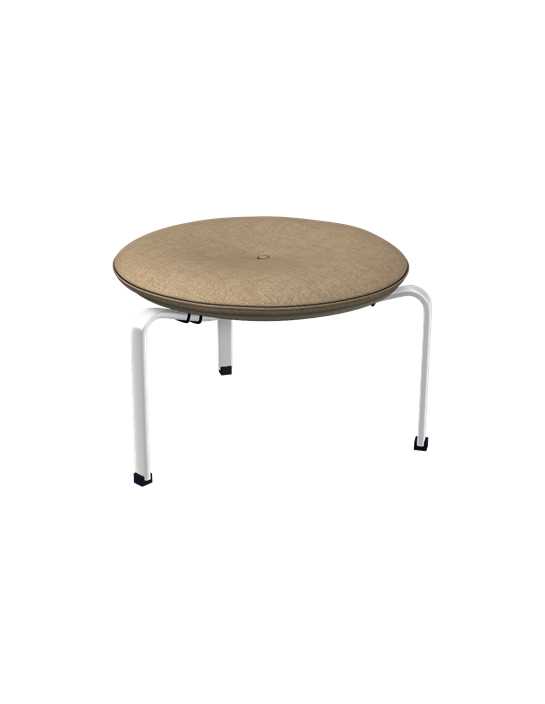 hocker pk33 von fritz hansen. Black Bedroom Furniture Sets. Home Design Ideas