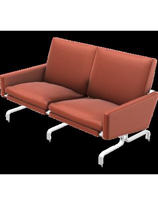 Sofa PK31/2 von Fritz Hansen