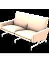 Sofa PK31 Fritz Hansen 2-sitzer