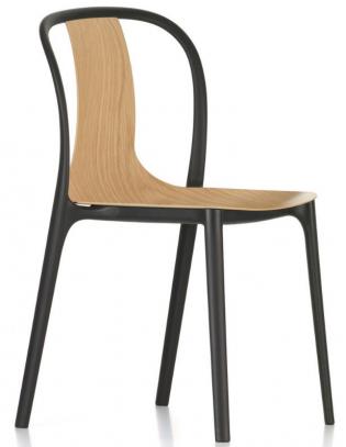 Stuhl Belleville Side Chair Wood von Vitra Eiche