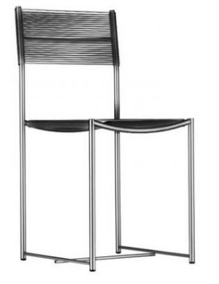 Stuhl 101 Spaghetti Chair Alias schwarz
