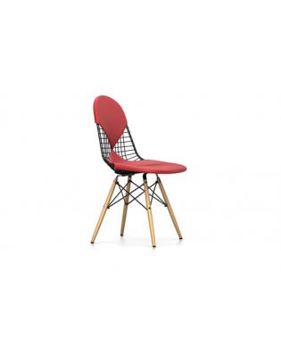 Stuhl Wire Chair DKW-2 Vitra Leder