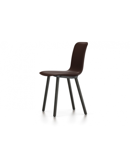 Stuhl HAL Leather Wood Vitra