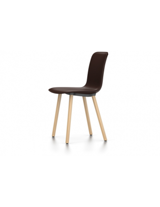 Stuhl HAL Leather Wood Vitra