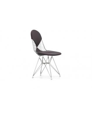 Stuhl Wire Chair DKR-2 Vitra Leder Premium