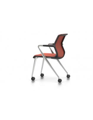 Unix Chair 4-Bein mit Rollen Vitra Plano