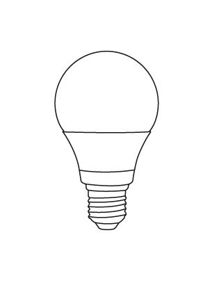E27 LED A69 9,5-60W Glühbirne Lightyears
