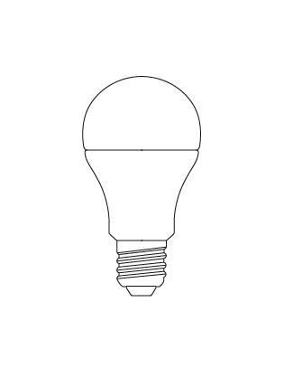 E27 GLS OMNI 11-60W Glühbirne Lightyears