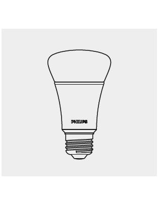 E27 MASTER LEDBULB D10-60W Glühbirne Lightyears
