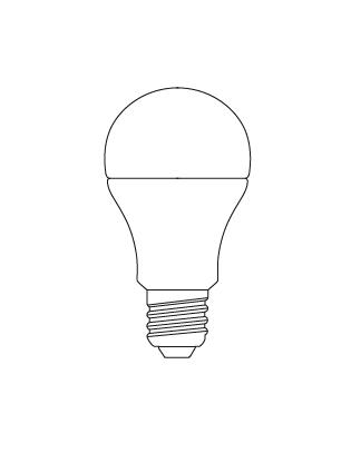 E27 GLS OMNI 8D-40W Glühbirne Lightyears