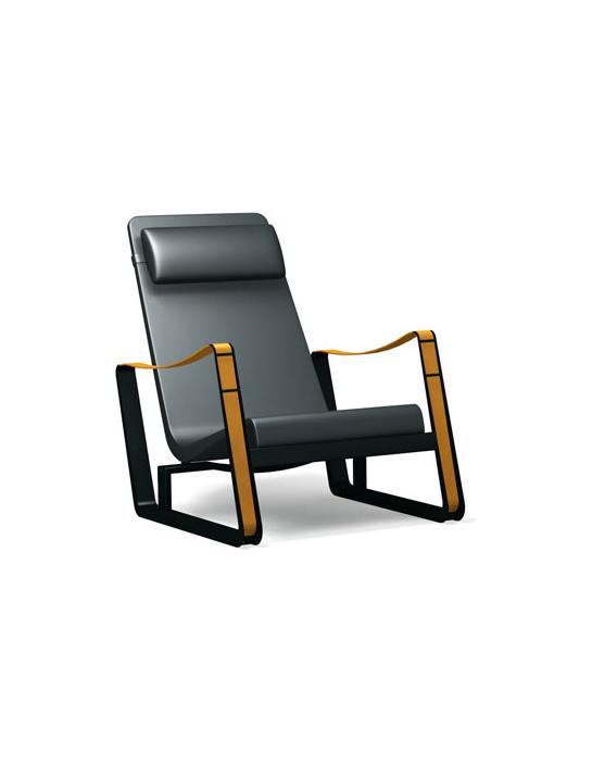 sessel cit leder vitra betz designm. Black Bedroom Furniture Sets. Home Design Ideas