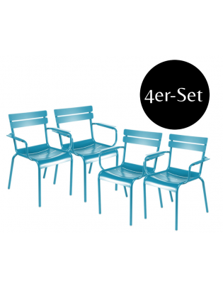 4er Set Sessel Luxembourg Fermob