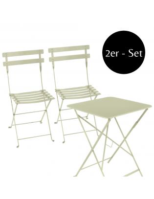 2er-Set Klappstuhl Bistro mit Tisch Fermob
