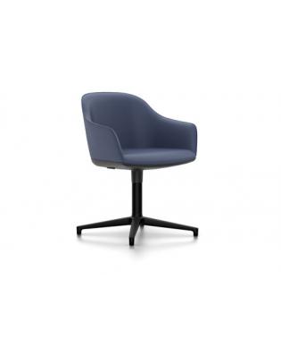 Stuhl Softshell Chair Vitra Viersternfuss Laser